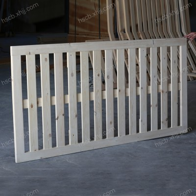 香河恒顺实木床铺板 透气实木床板1.5/1.8米松木硬床架