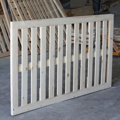 香河顺实木床铺板 双人排骨架床架床垫架1.5米1.8米