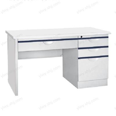 北京钢制办公桌办公室学校员工铁皮电脑桌