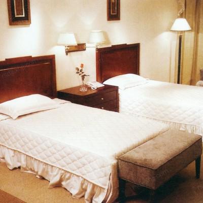 香河直销中式全套宾馆家具 电视柜写字台套房标间06