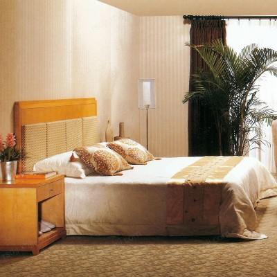 香河直销酒店宾馆公寓全套家具 软包床头连体电脑电视桌10