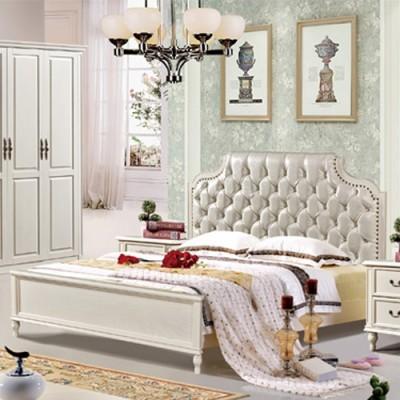 天津皮床主卧现代简约1.8米婚床大小户型