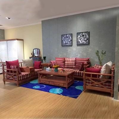 天津布艺沙发客厅可拆洗简约现代沙发