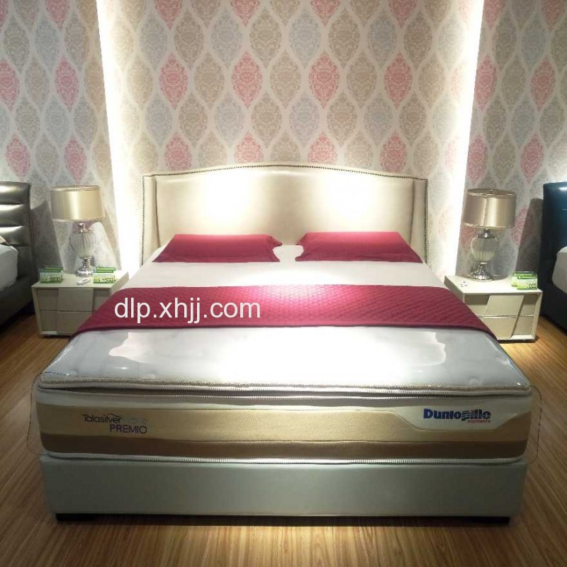 荣耀进口床垫香河邓禄普乳胶床垫 1.8米2米