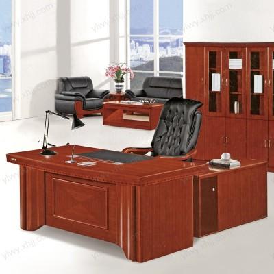 北京云龙伟业办公家具 油漆办公班台 老板台经理桌