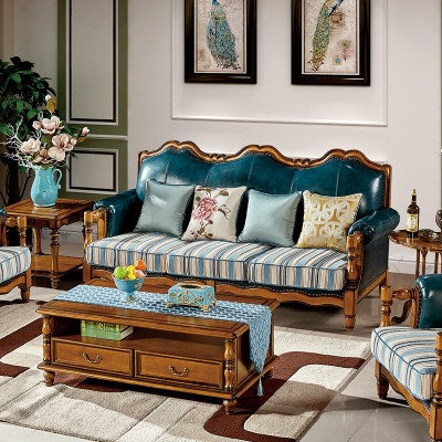 凯能家具别墅沙发欧式简约时尚沙发D-116