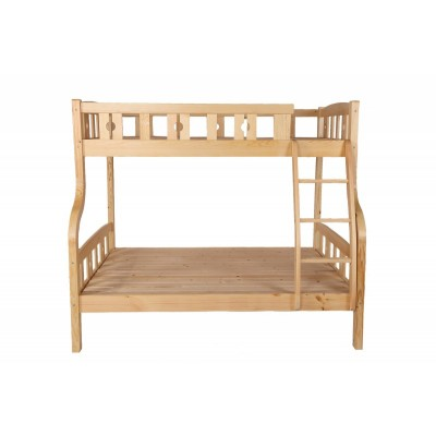 实木母子床