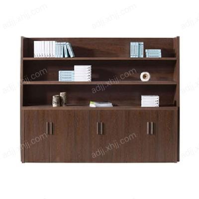 保定办公室板式背景书柜03