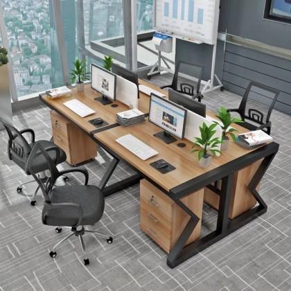 香河国景办公家具2018年员工位职员桌椅