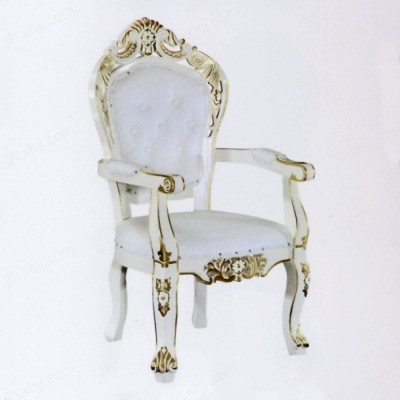 欧式酒店餐椅 古典豪华餐椅06