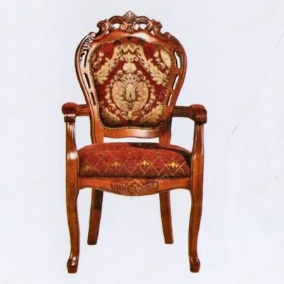 欧式酒店餐椅 带扶手高档餐椅04