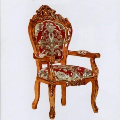新古典雕花酒店餐椅 带扶手靠背酒店椅子03