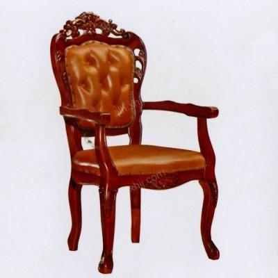 北京实木餐椅 美式餐厅扶手椅02