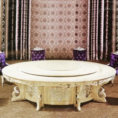 北京实木餐桌椅组合 高档酒店餐桌椅06