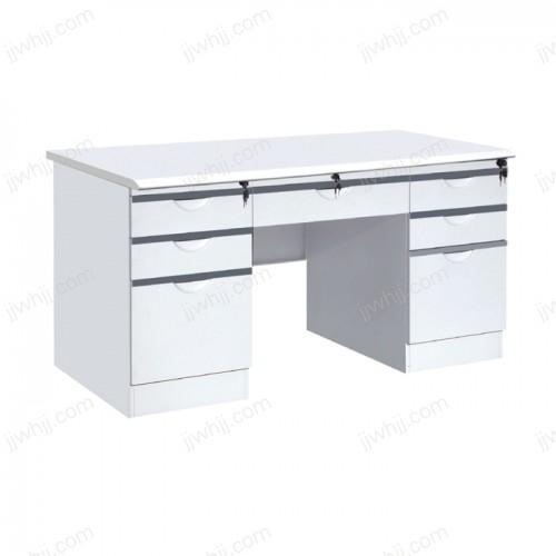 钢制办公桌  04