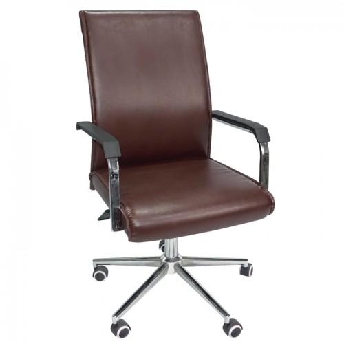 办公椅705B棕