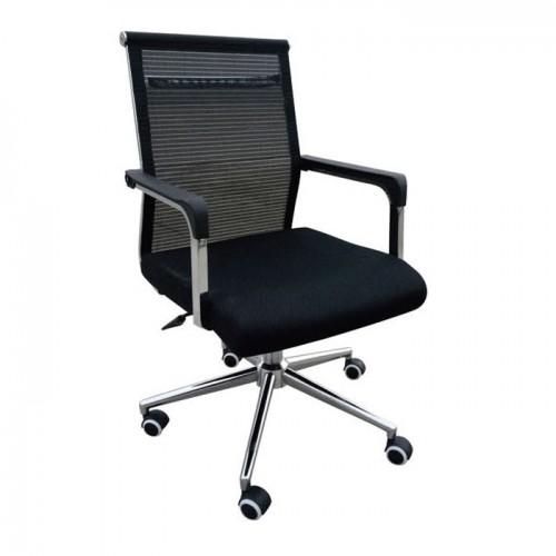 办公椅A086-3黑转