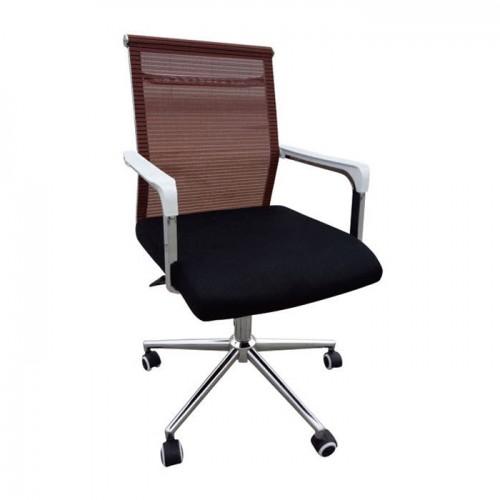 办公椅A086-3橙转
