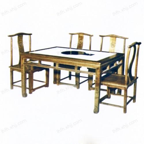 实木雕刻餐桌22