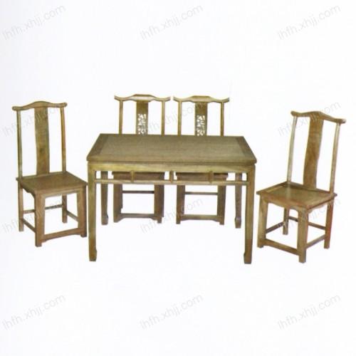 实木雕刻餐桌21
