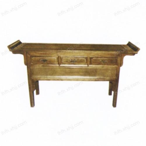 实木雕刻条桌18