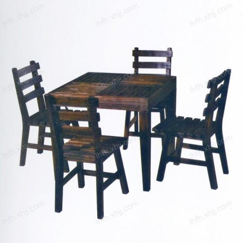 实木雕刻餐桌17