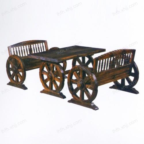 实木雕刻餐桌11