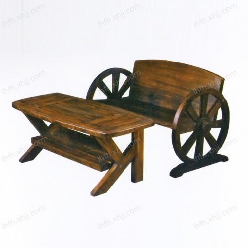 实雕刻木餐桌09