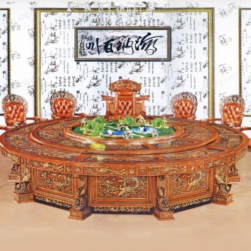 电动餐桌04