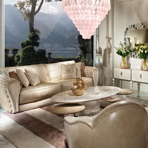 罗浮新意大利风格时尚皮沙发03