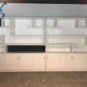 博维雅板式书柜文件柜经理室置物架 (4)