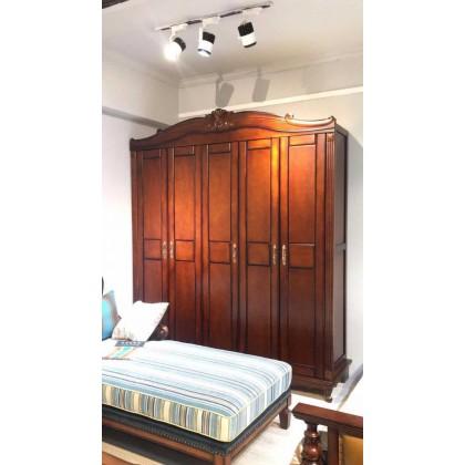 经典美式纯实木衣柜