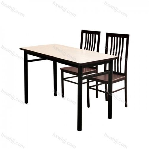 北京食堂钢木餐桌椅006