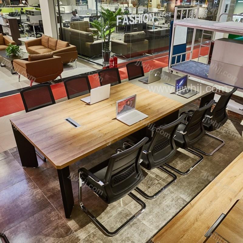 会议桌展厅实景图