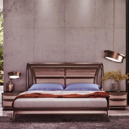 意式风格柚木卧室套房
