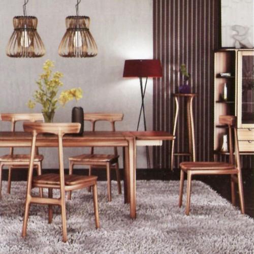 意式风格柚木餐桌椅09