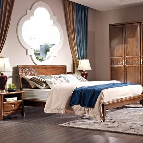 中国概念卧室家具301卧房