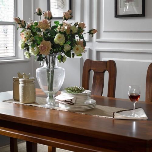 实木餐桌椅 乌金木餐桌椅28