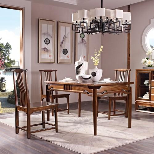 中国概念餐桌椅家具302餐厅
