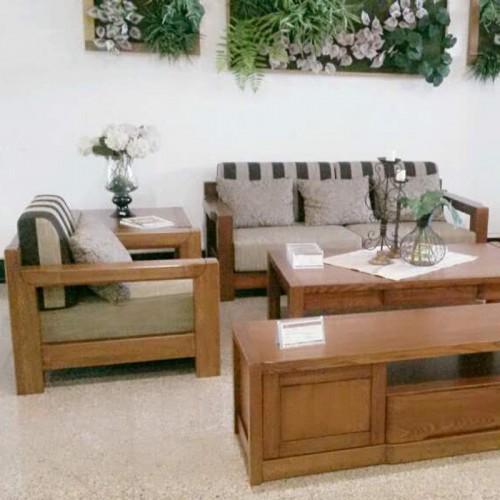 中式全实木沙发 乌金木客厅沙发02