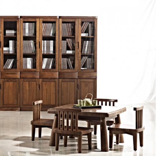 实木餐桌椅 中式家用餐桌01
