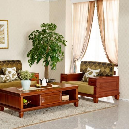客厅实木沙发 现代新中式沙发12