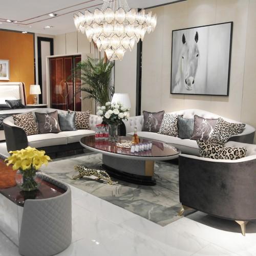 阿斯娜现代轻奢沙发SAM-0169