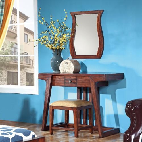 美式卧室实木梳妆台S5017