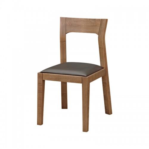 原生态实木皮面椅P-Y810