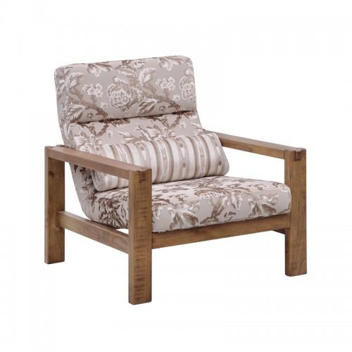 原生态实木单人沙发P-Y806