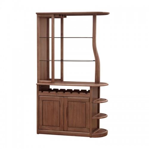 客厅隔断柜子 实木玄关酒柜X-BG701