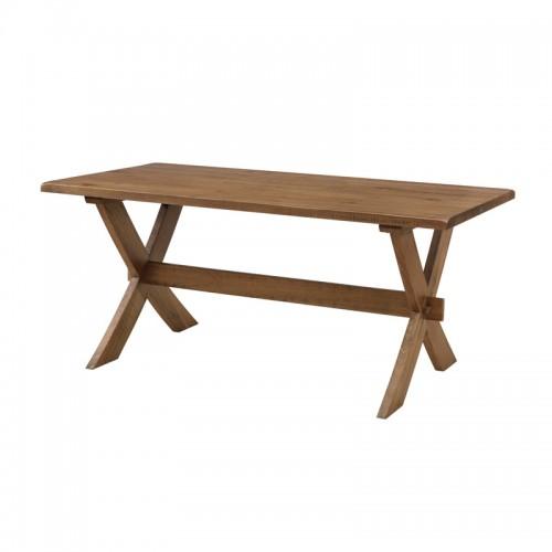 原生态实木休闲餐桌P-X809 ( A B )