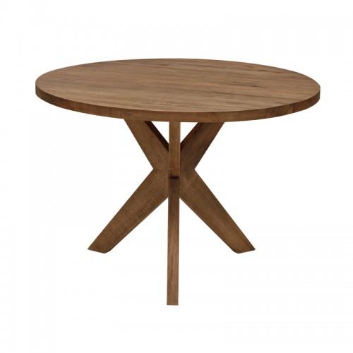 原生态实木圆餐桌P-X807