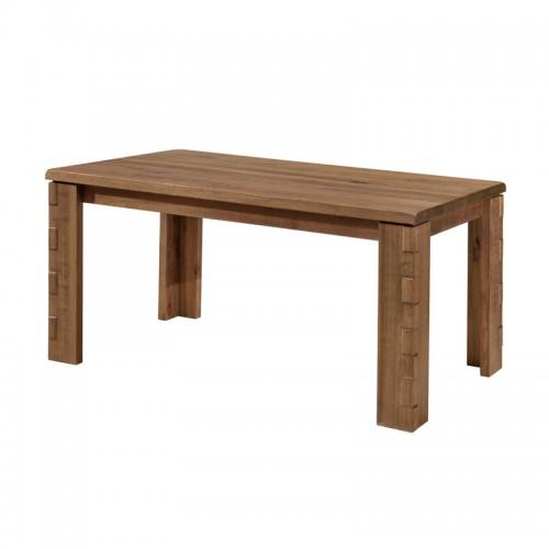 原生态餐厅实木长餐桌P-X806( A B C )